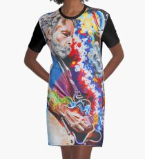 Dizzy With Eternity Graphic T-Shirt Dress