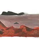 « île languissante » par Julie Barranger