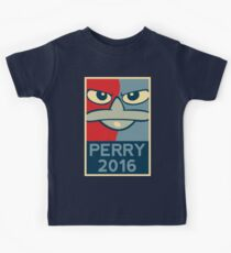 Perry the Platypus For President 2016 Kids Tee