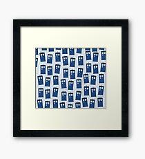 Tardises Framed Print