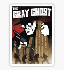 The Gray Ghost Sticker