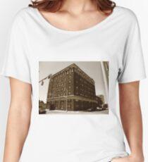 Burlington, North Carolina - Main Street Women's Relaxed Fit T-Shirt