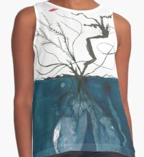 Burnt branches  Contrast Tank
