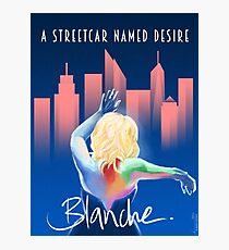Blanche - NYC Fotodruck
