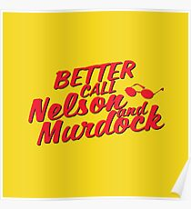 Better Call Nelson and Murdock Poster
