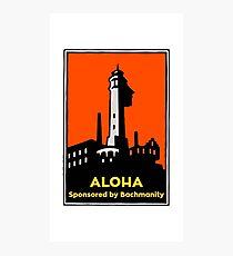 Alcatraz Aloha Bachmanity - Silicon Valley Photographic Print