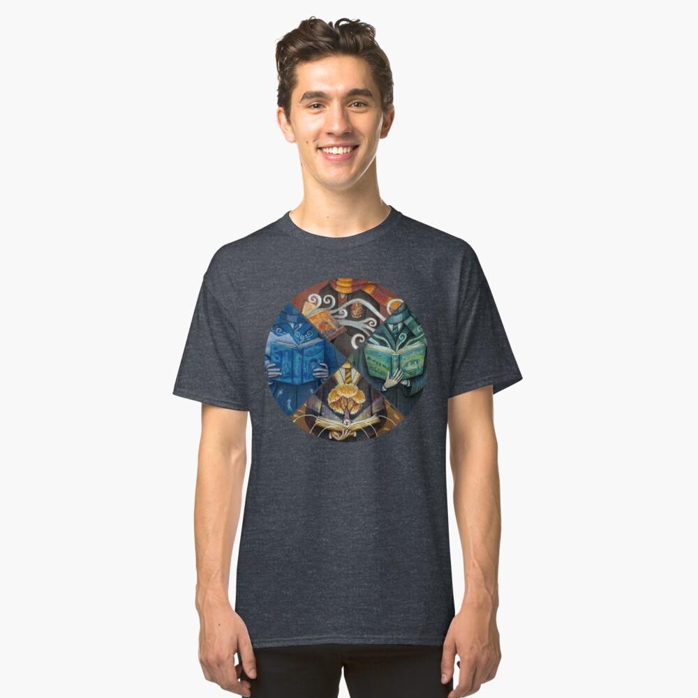 Bücher Magie Classic T-Shirt