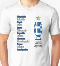 Greece 2004 Euro Winners Unisex T-Shirt