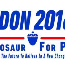 Sheldon 2016 (White) Sticker