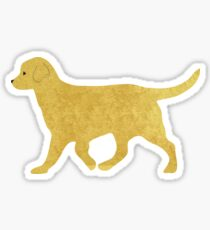 Yellow Lab Sticker