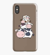 Cow Stack iPhone Case/Skin