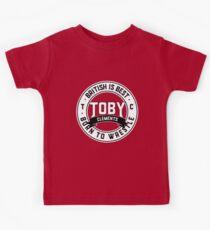 Toby Clements 'British Is Best' Artwork #4 Kids Clothes