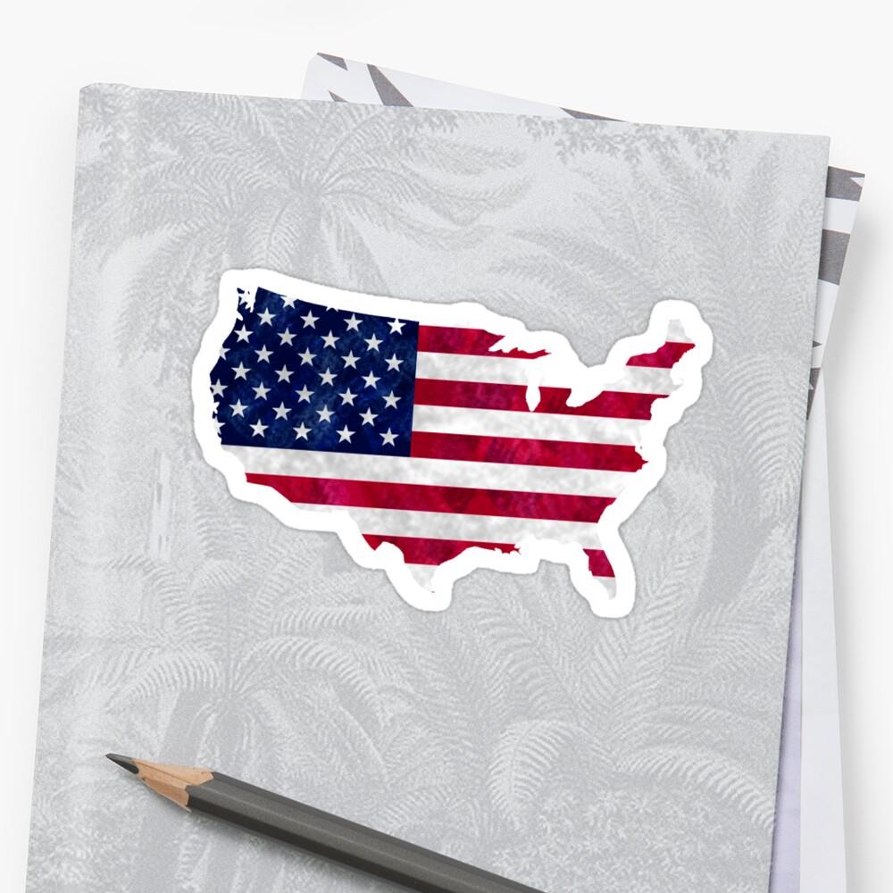 Amerika Sticker