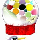 Too sweet candy bubble gum bird old style  by rupydetequila
