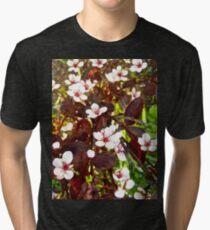 Tiny flowers Tri-blend T-Shirt
