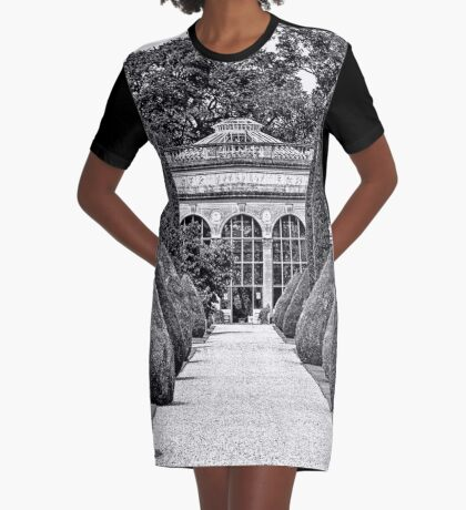Path to the Orangery  Graphic T-Shirt Dress