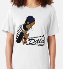 J Dilla - Today In Hip Hop History Slim Fit T-Shirt