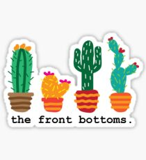 The Front Bottoms Cacti Sticker
