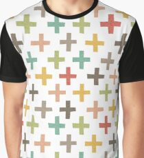 Hipster Crosses Graphic T-Shirt