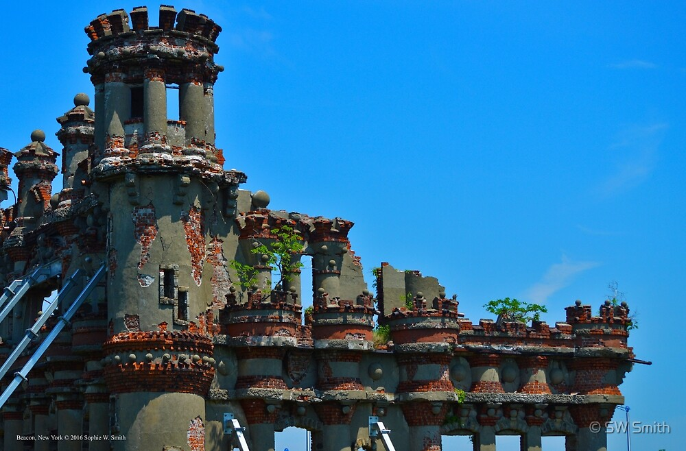 Bannerman Castle Detail - Pollepel Island | Beacon, New York by © Sophie W. Smith