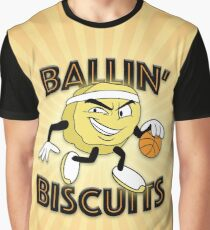 Ballin' Biscuits Graphic T-Shirt