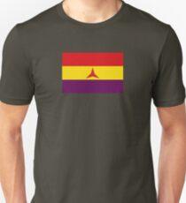 Spanish Republican Flag (Civil War) brigadas internacionales Unisex T-Shirt