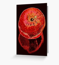 Red Apple 2 Greeting Card
