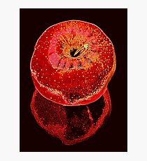 Red Apple 2 Photographic Print
