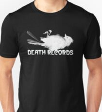 Death Records Label Unisex T-Shirt