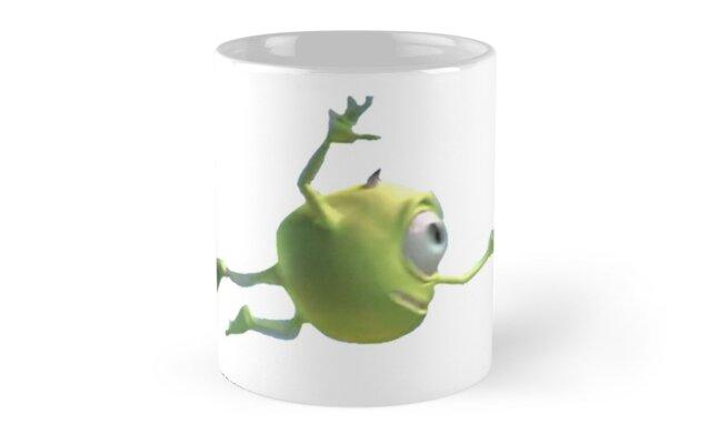 Blurry Mike Wazowski Mugs By Chiliboyo Redbubble