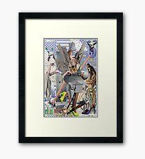Why Dada Ripped Futurists. Framed Print
