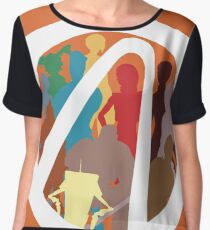 Borderlands Character Design Women's Chiffon Top