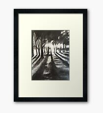 Sawmillers harbourside park Framed Print