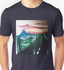 The Long Lonely Road  Unisex T-Shirt