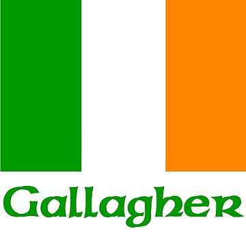 Gallagher Irish Flag by IrishArms