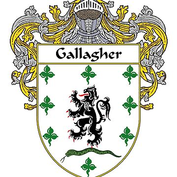 Gallagher Coat of Arms/Family Crest by IrishArms