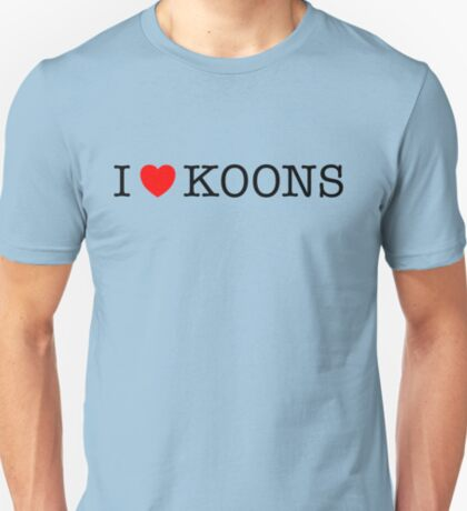 I Love Koons T-Shirt