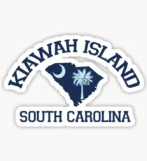 Kiawah Island - South Carolina. Sticker