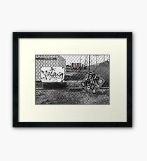 Suburb Slumps Framed Print