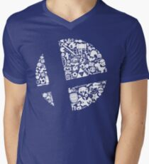 Smash! Men's V-Neck T-Shirt