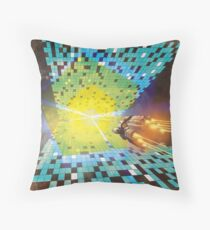 Warp to Year 650 Billion Throw Pillow