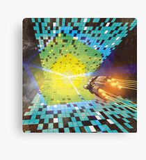 Warp to Year 650 Billion Canvas Print