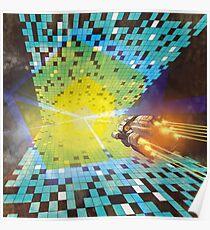 Warp to Year 650 Billion Poster