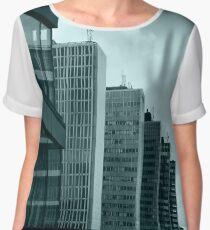 Office Buildings Chiffon Top