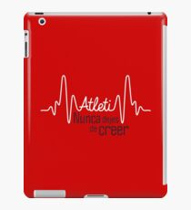 Atleti - Pulso, Nunca Dejes De Creer iPad Case/Skin