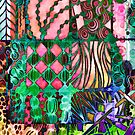 """""""Tangle me Happy II"""" by kcd-designs"""