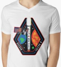Deep Space Climate Observatory (DSCOVR) Launch Logo Mens V-Neck T-Shirt
