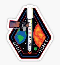 Deep Space Climate Observatory (DSCOVR) Launch Logo Sticker