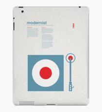 Modernist Turntable iPad Case/Skin