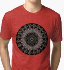Camiseta de tejido mixto Aquatic Horizons Mandala